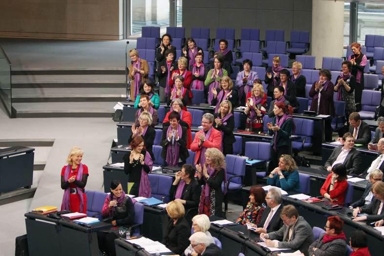 """""""Frauenfraktion"""" DIE LINKE im Deutschen Bundestag zum Internationalen Frauentag."""