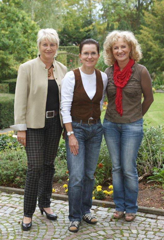 Petra Sitte (mitte) auf während ihrer Kulturtour in Nordhausen (c) DIE LINKE Thüringen