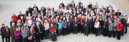 Gruppenbild des Parlamentariertags