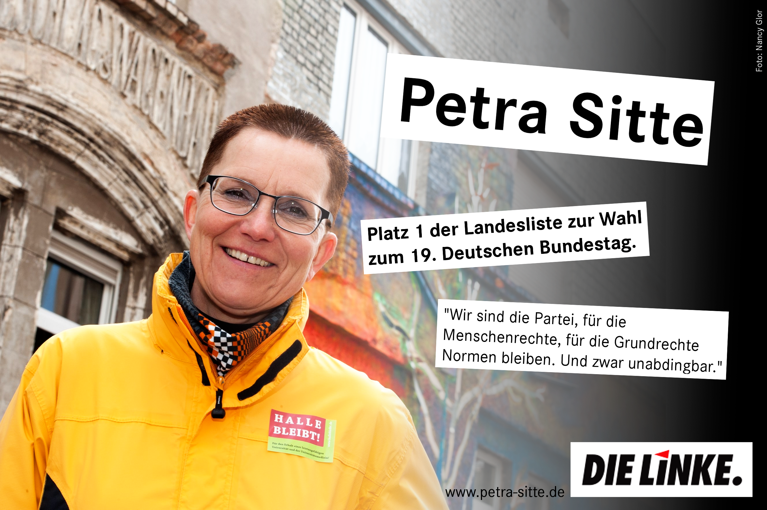 Petra Sitte - Listenplatz 1